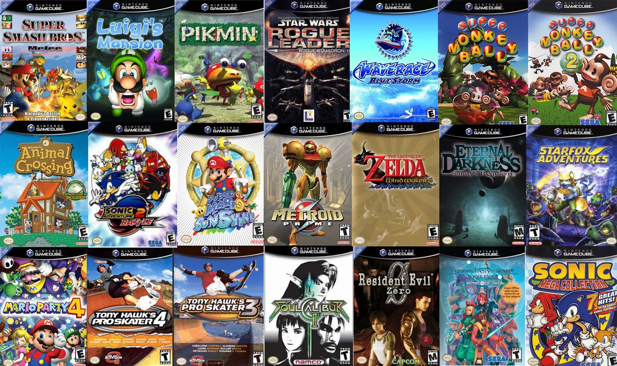 "Blandrew | Playing Grandia HD on Twitter: ""Sample of Gamecube 1st year  lineup. Straight CLASSICS! Switch wont beat it (doubt anything ever will),  but itll be the best we've seen since… https://t.co/0pfQztU6D2"""