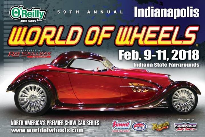 Autorama World Of Wheels Cavalcade Of Customs On Twitter - Car show indiana state fairgrounds
