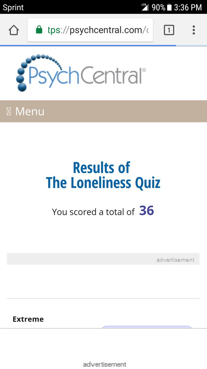 The loneliness quiz