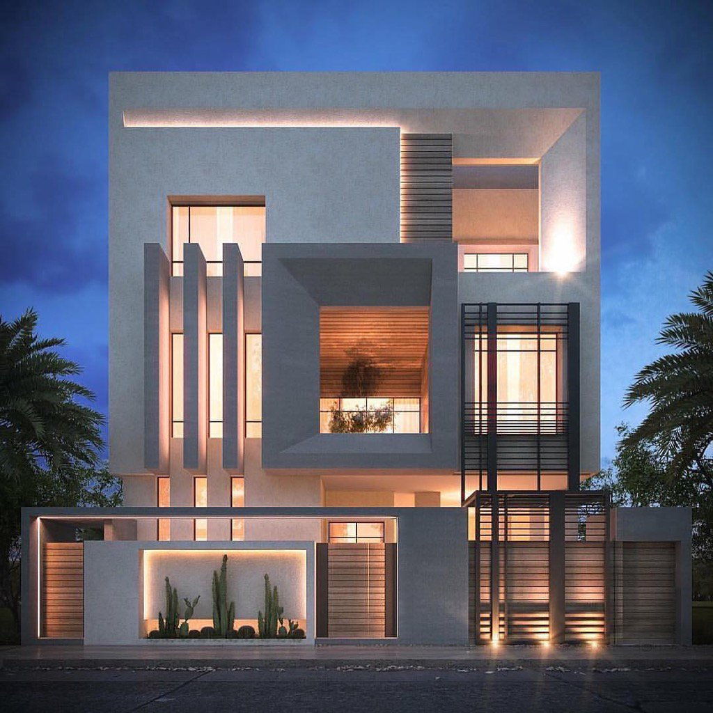 "Private Villa Sarah Sadeq Architects Kuwait: Archidesignhome On Twitter: ""Private Villa Designed By"