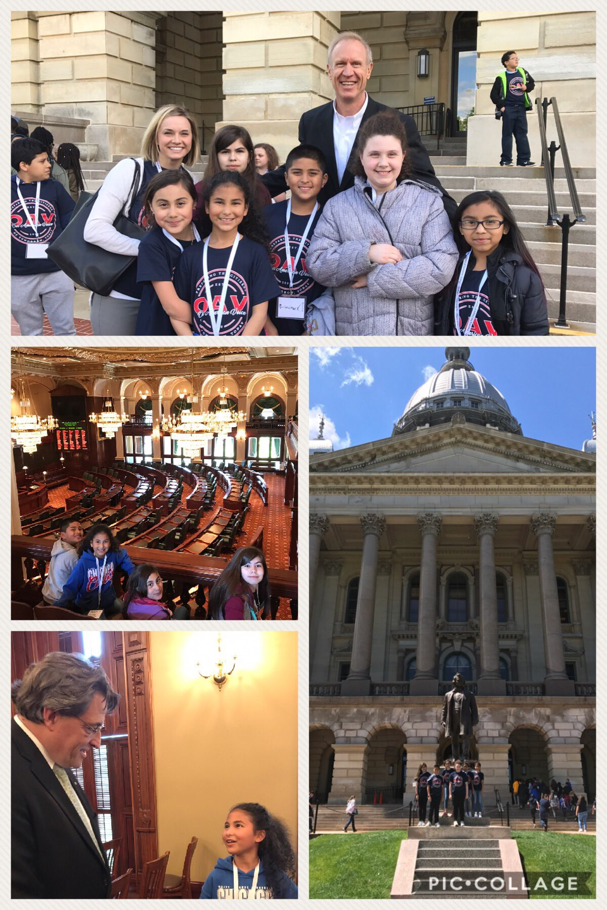 What a day in Springfield with #OAVsummit17!  Thanks @OurAmVoice for the amazing day learning about government!  #hiawathapride https://t.co/dEZDurUiAG