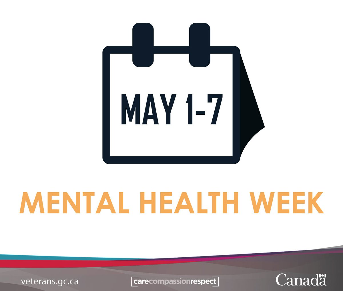 Veterans Affairs Ca On Twitter Mental Health Week Is May 1 7