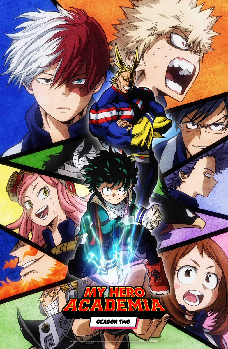 My Hero Academia: Lista Episodi Streaming e Download SUB-ITA (Seconda stagione)