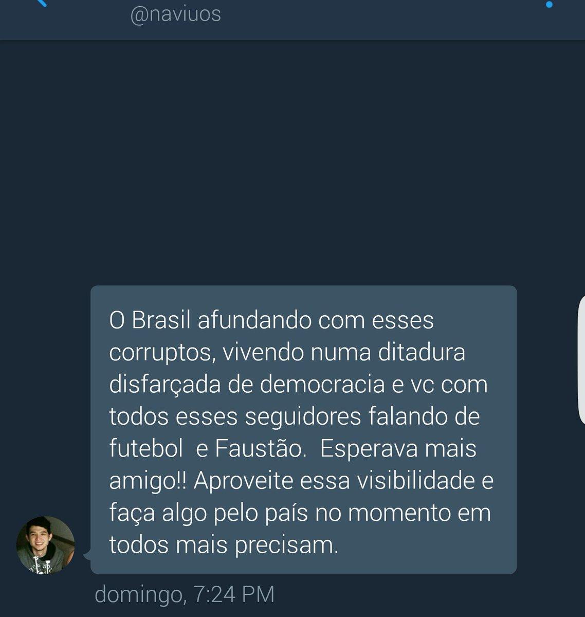Gostaria de pedir desculpas ao Brasil  Não sei como pude ser um traidor da minha própria pátria...