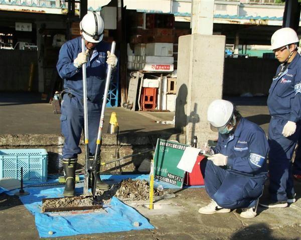 築地市場の土壌汚染調査を開始 東京都、5月中に結果公表 https://t.co/8M6BnXvupW #築地 #築地市場