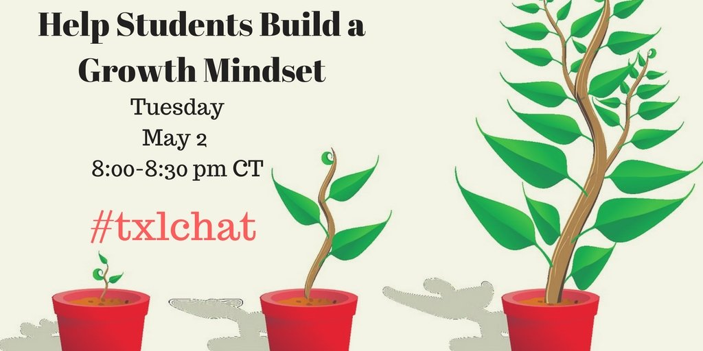 on our way to 5 min countdown for #txlchat #GrowthMindSet @HendersonISD https://t.co/vRzyrg6FkS