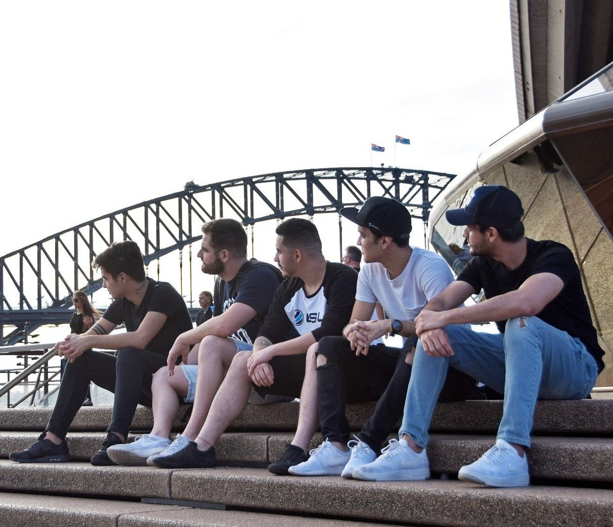 SK Gaming CS:GO in Sydney, Australia.