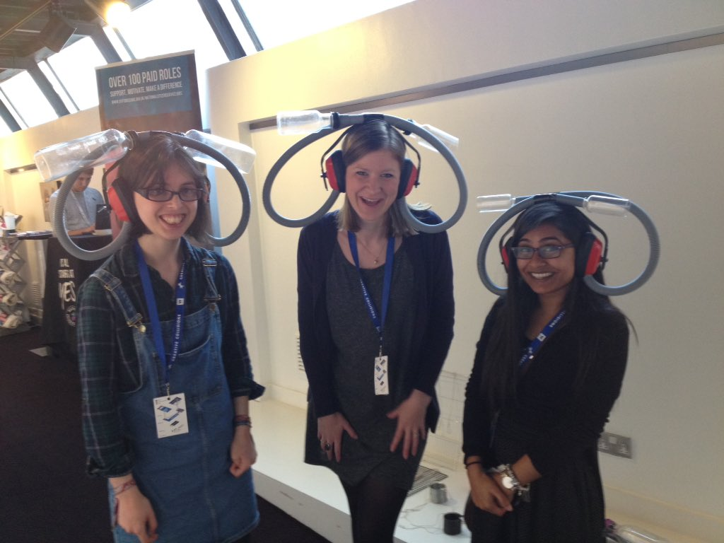 Here @ccollisions_uk the #Confuserphones are already intriguing #creativecollisions w @IgniteFutures provoking curiosity https://t.co/fmjSPIiZxw