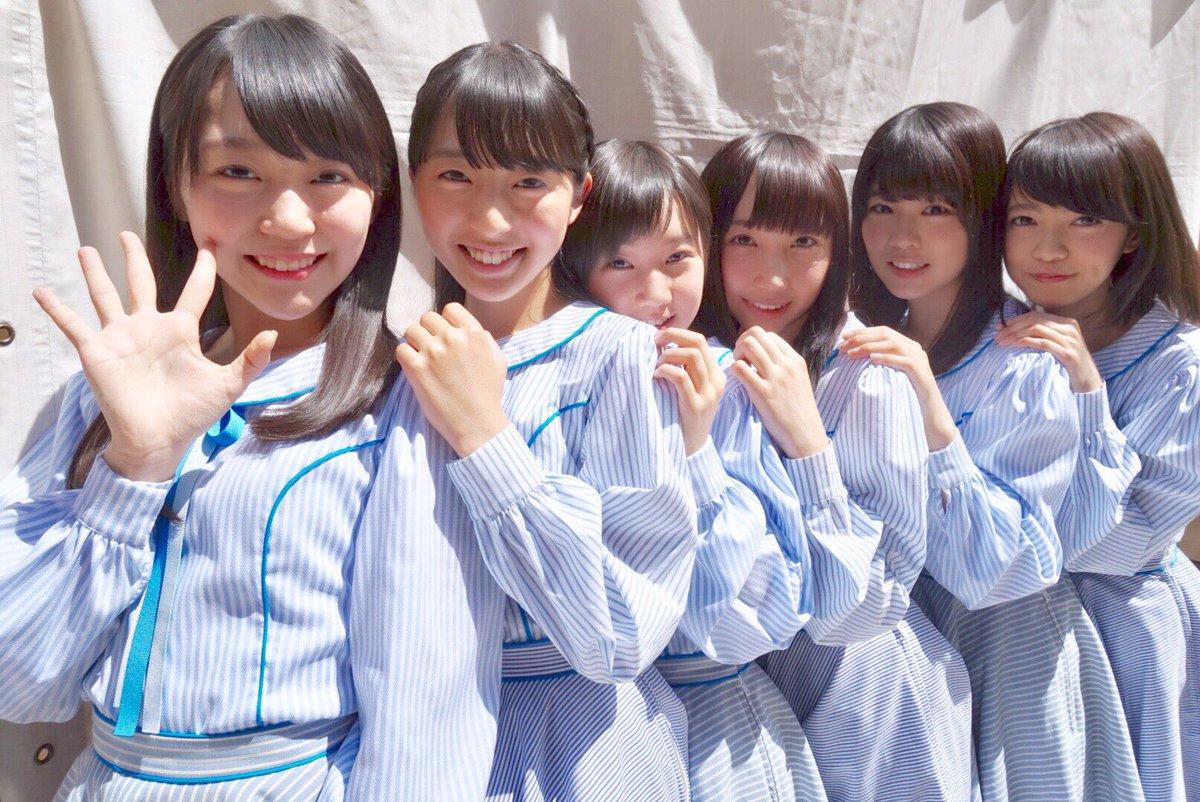 """STU48 On Twitter: """"お披露目時のメンバー達!水色の衣装がとても爽やかです #STU48 #ひろしま"""