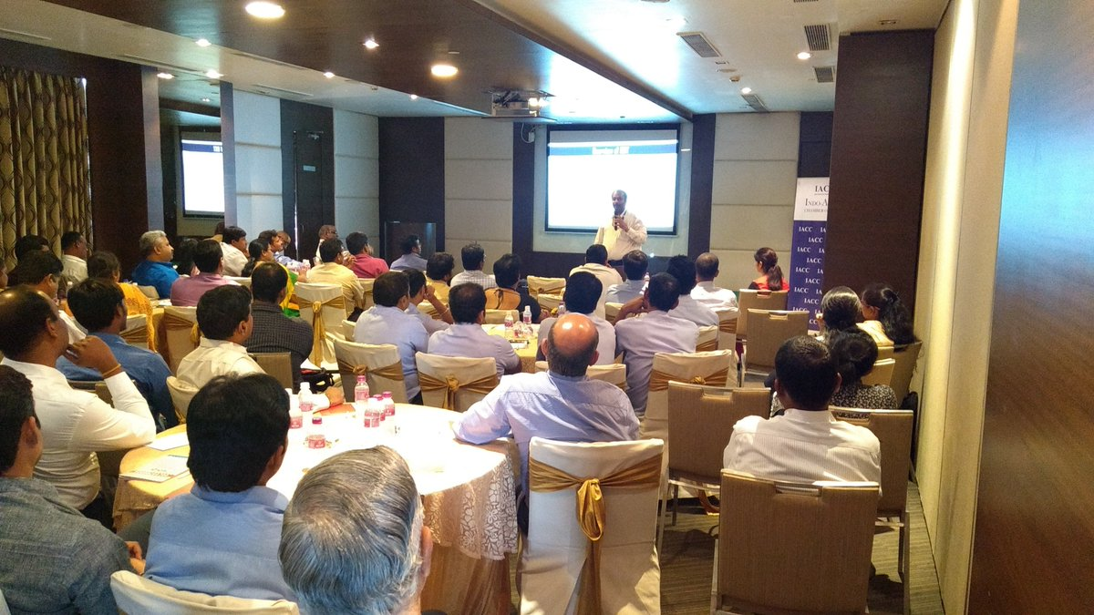 """iacc india on twitter: """"knowledge session on gst awareness and"""