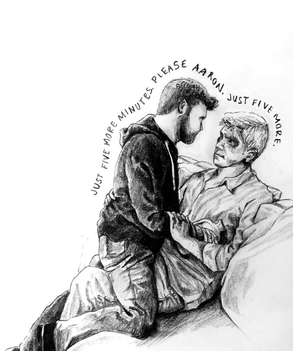 Jenny slife on twitter pencil sketch from take my sins chapter 42