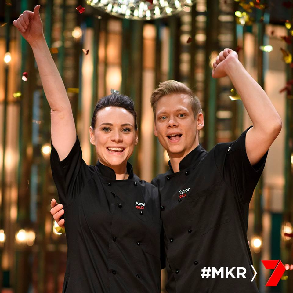 Join us in congratulating 2017's My Kitchen Rules' Champions, #AmyTyson! We wish them sweet success for the future. #MKR @Channel7