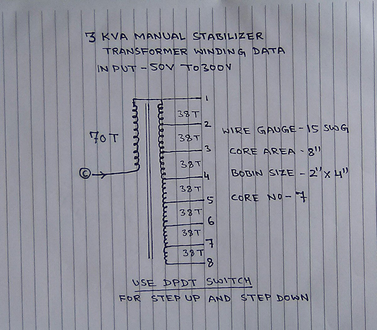 Automatic Voltage Stabilizer Circuit Guide And Troubleshooting Of Diagram Jsb Electric On Twitter Quot 3 Kva Manual Free