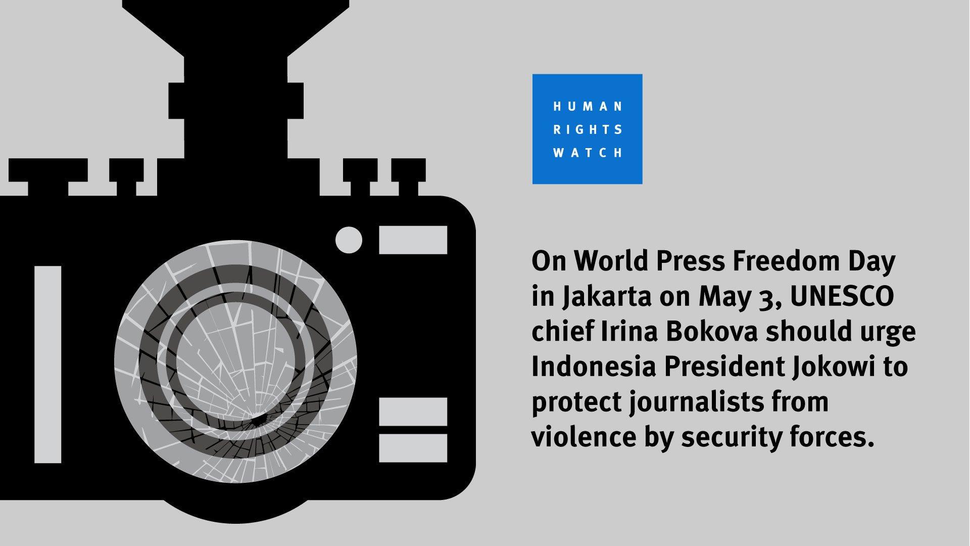 World Press Freedom Day | Human Rights Watch