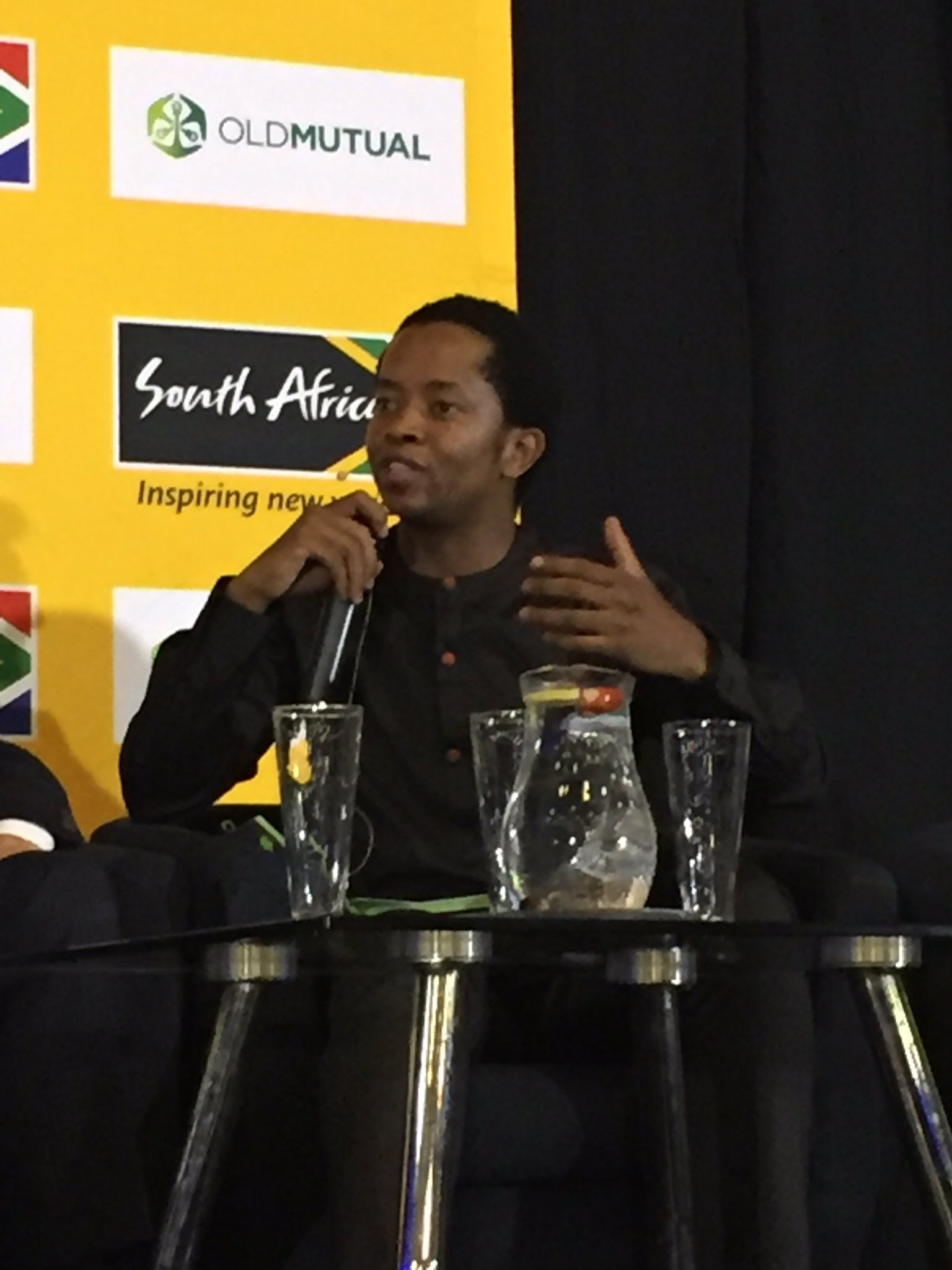 Youth's ambition is limited to their exposure #travel  #BrandSAYouthBreakfast #WEFAfrica2017 cc @Brand_SA @Andile_Khumalo https://t.co/fzkeMDNDXP