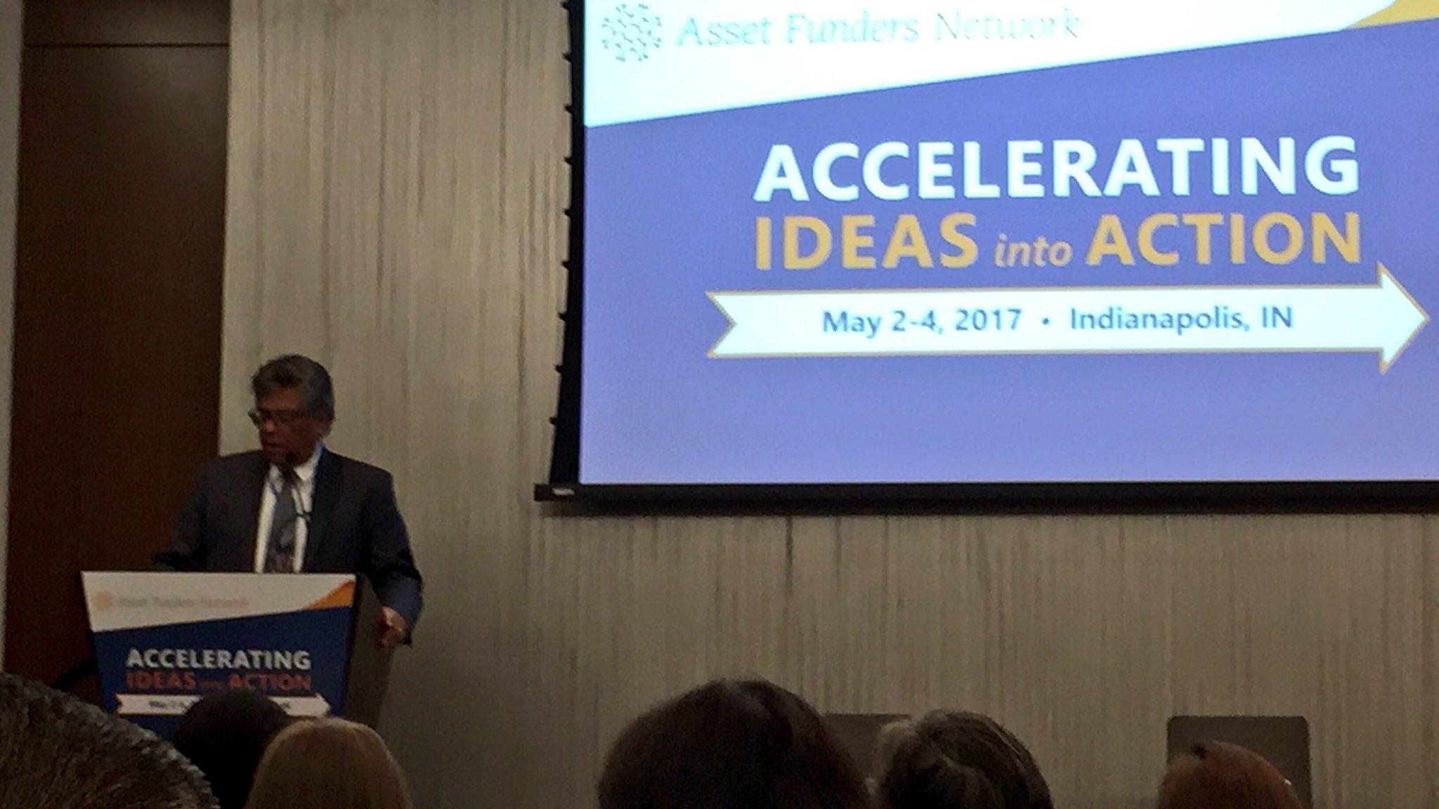 Exec Dir of @AssetFunders, Joseph Antolin, highlighting racial & women's #wealthgap, philanthropy role to bring #ideasintoaction https://t.co/BIrmZ2uFl7