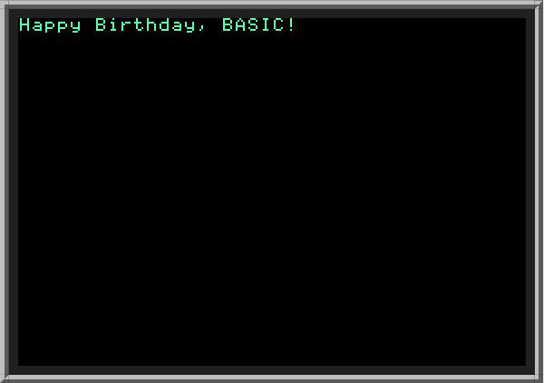 BASIC computer language is 53 years old today. Retweet if BASIC was your first... http://ln.is/m3YDC by #ledave123 via @c0nvey