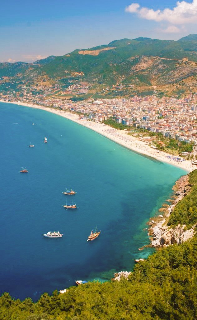 #Alanya #Antalya 📷  #Turkey #Travel #sea...