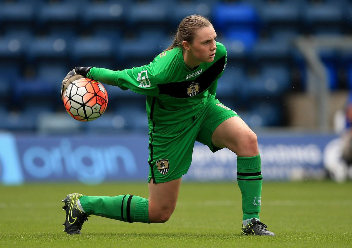 New goalkeeper - Megan Walsh arrives from Notts County Ladies