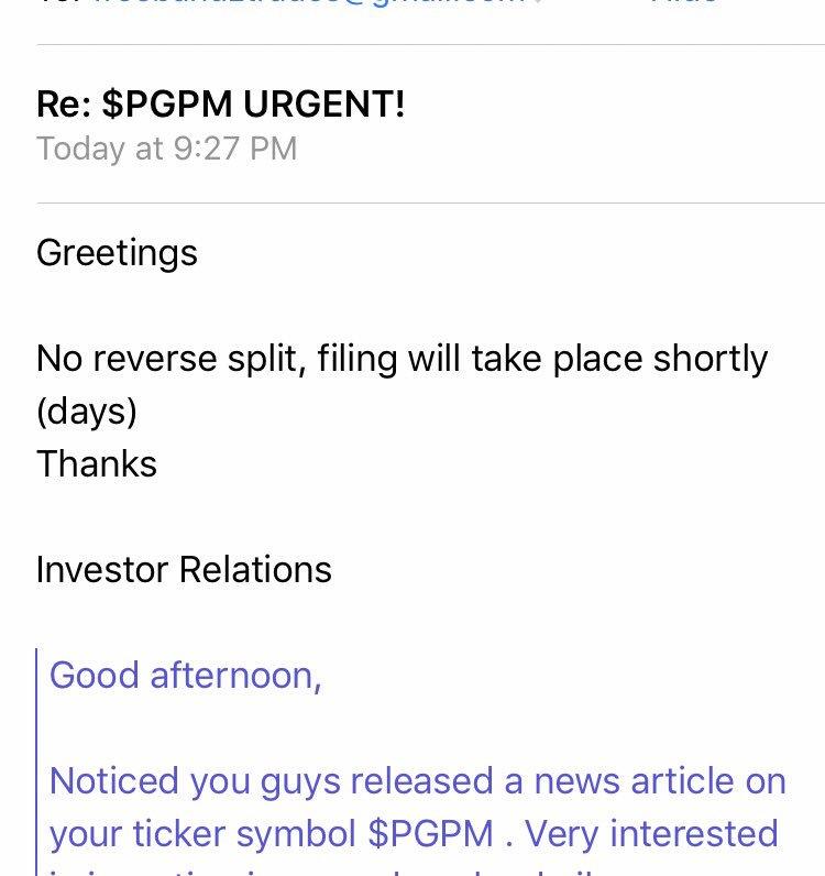 Pilgrim Petroleum Corp Pgpm Dd Compilation Institutional Buying