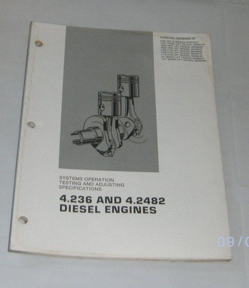 Cat 236 manual