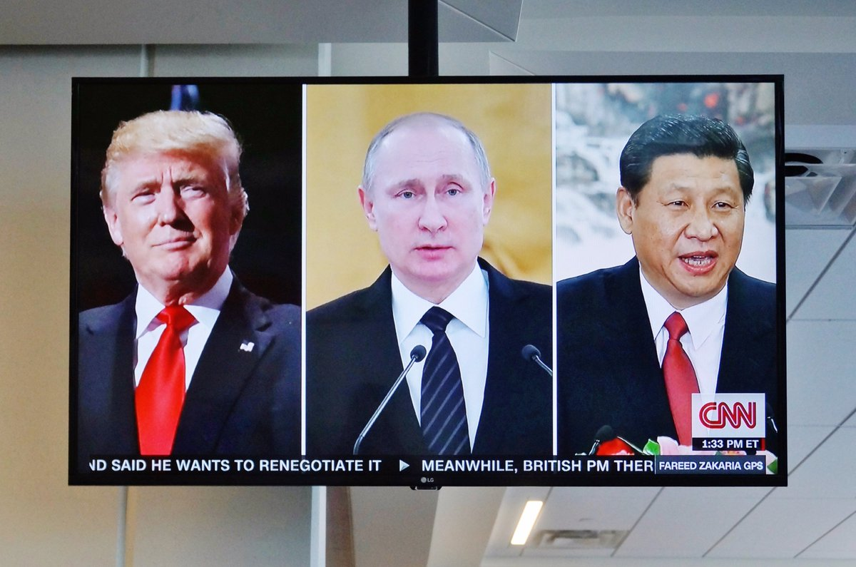 #Présidentielle2017 'Il n'y a jamais eu d'élections qui aient tant captivé l'intérêt international', Dominique Moïsi https://t.co/gyN4jFYVJ5
