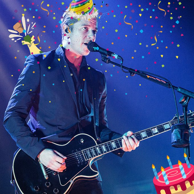 Happy birthday to Paul Banks of