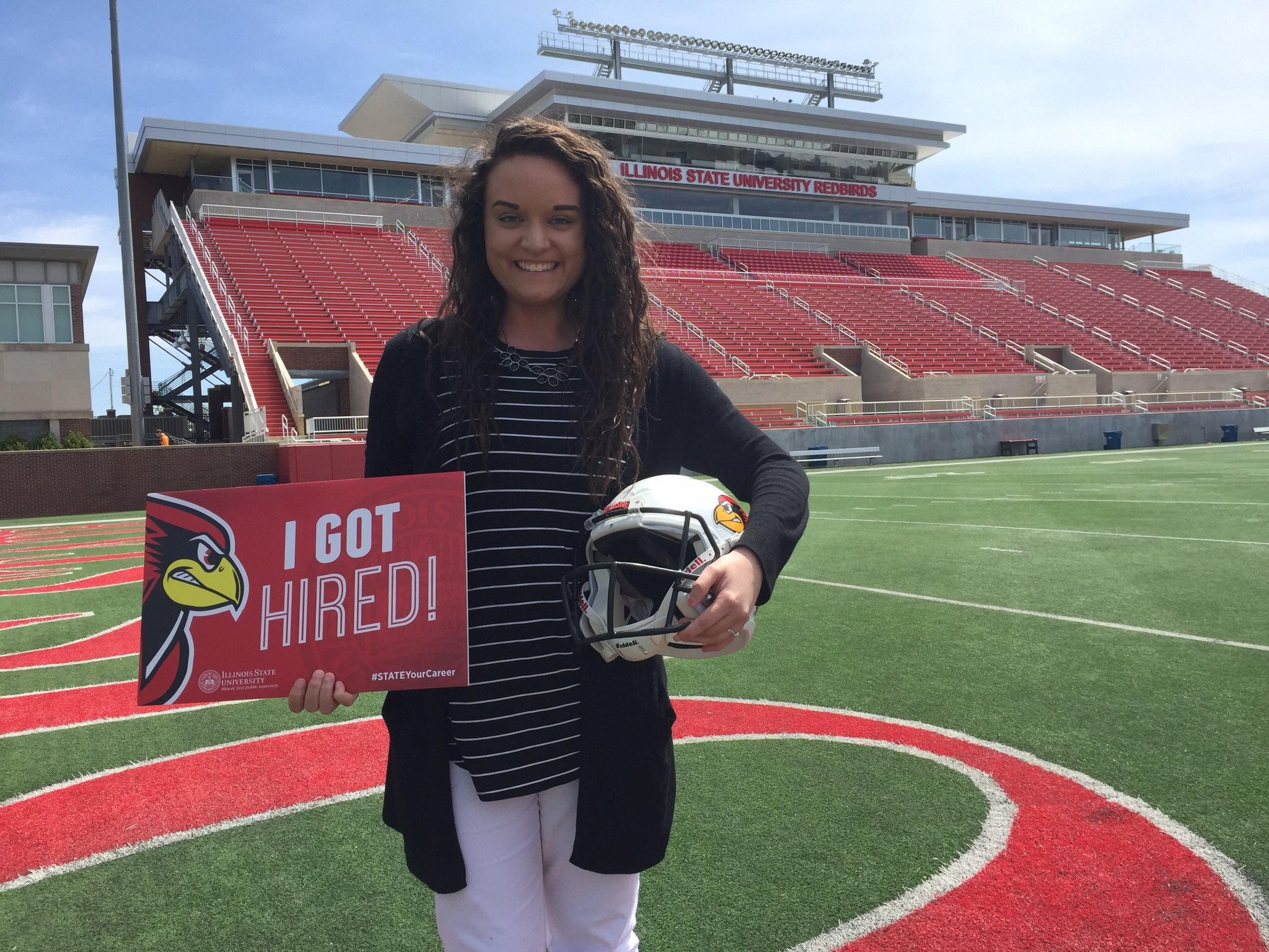 Congrats to @ISUSOC PR major and key member of our media crew @KaitlinGHoffman who is headed to work with the @CFAPeachBowl #STATEYourCareer https://t.co/1QYsH4isJY