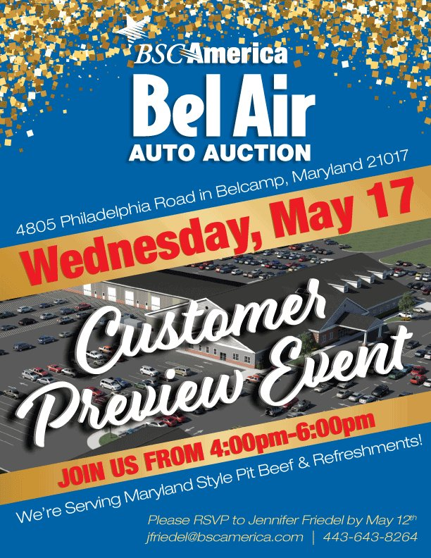 Bel Air Auto Auction (@belairauction) | Twitter