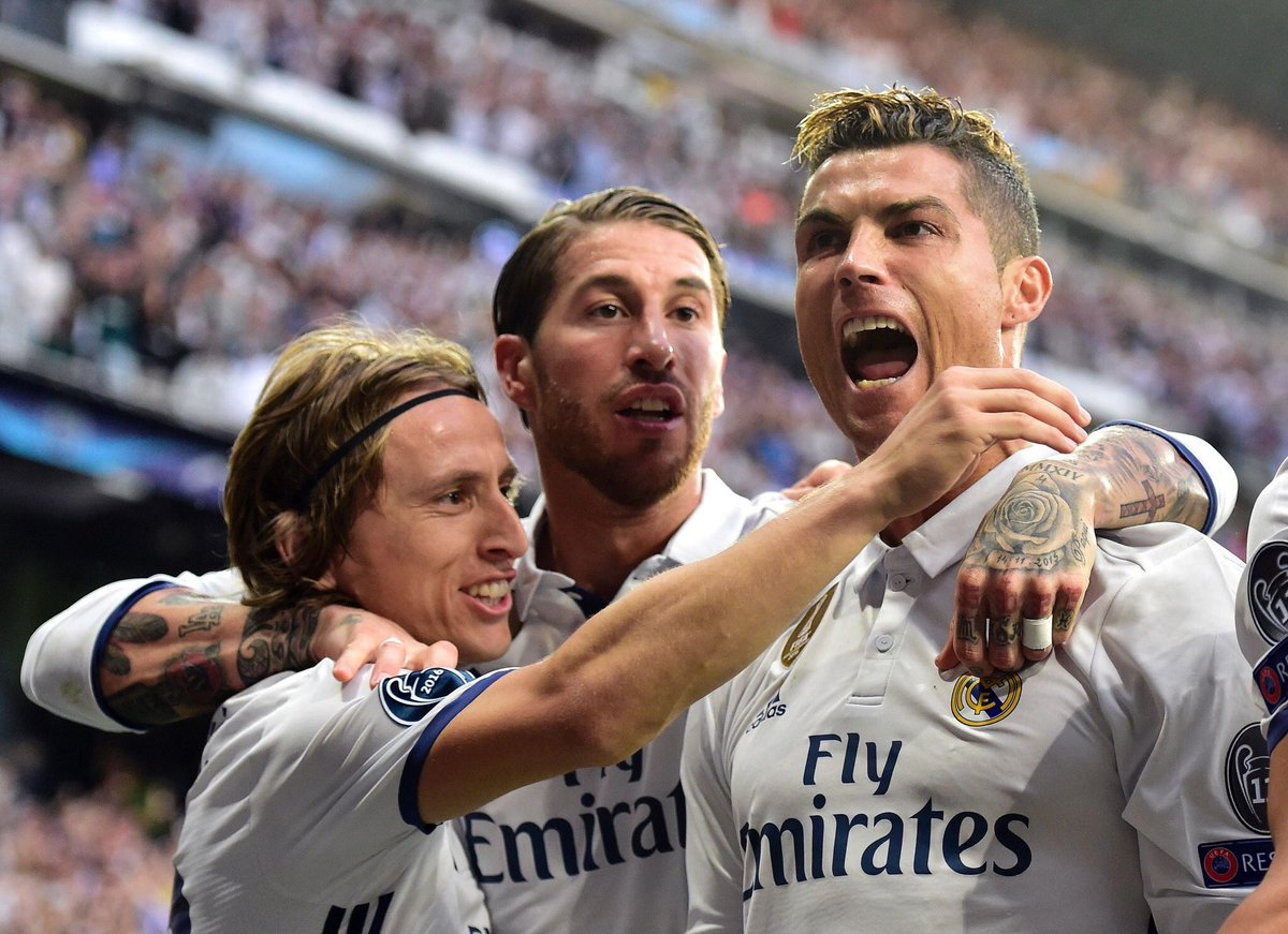 Chọn Modric, Sergio Ramos đá đểu CR7