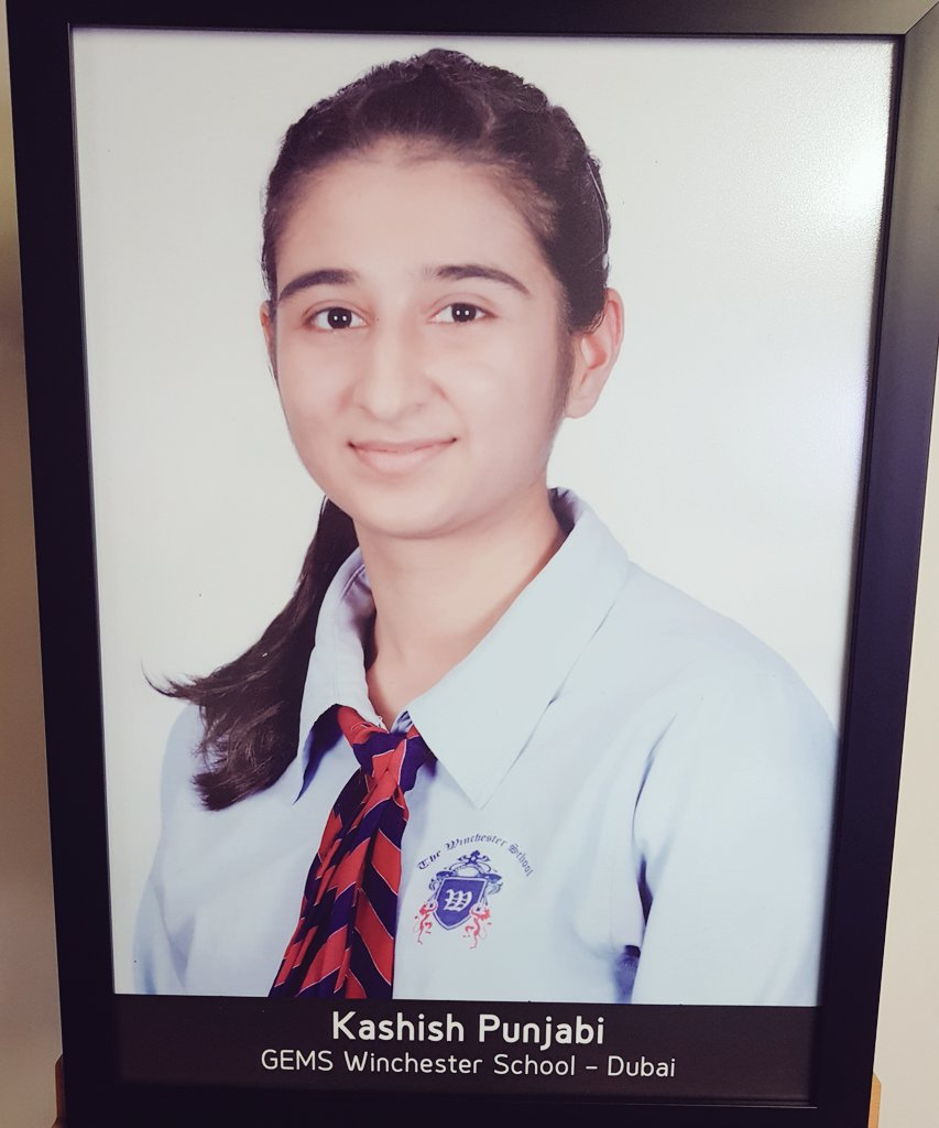 Gems Winchester Wsd On Twitter Congratulations To Kashish Punjabi Who Won The H H Sheikha Fatima Bint Mubarak Award For Excellence From Our School A Superb Achievement Https T Co Irxpdinzfh