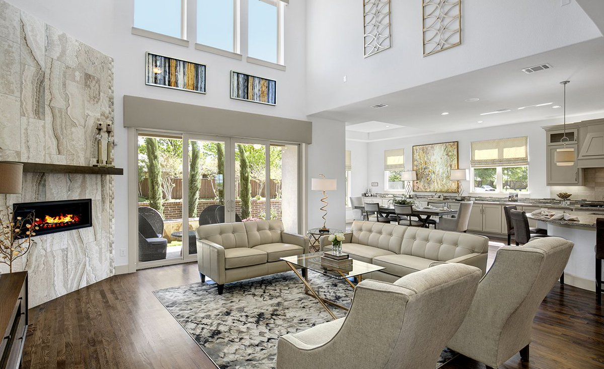 Gehan Homes On Twitter Sliding Glass Doors Are A Great Way To Let In More Natural Light And Brighten Up Your Home Oriole Sabine Park Dallas Texas