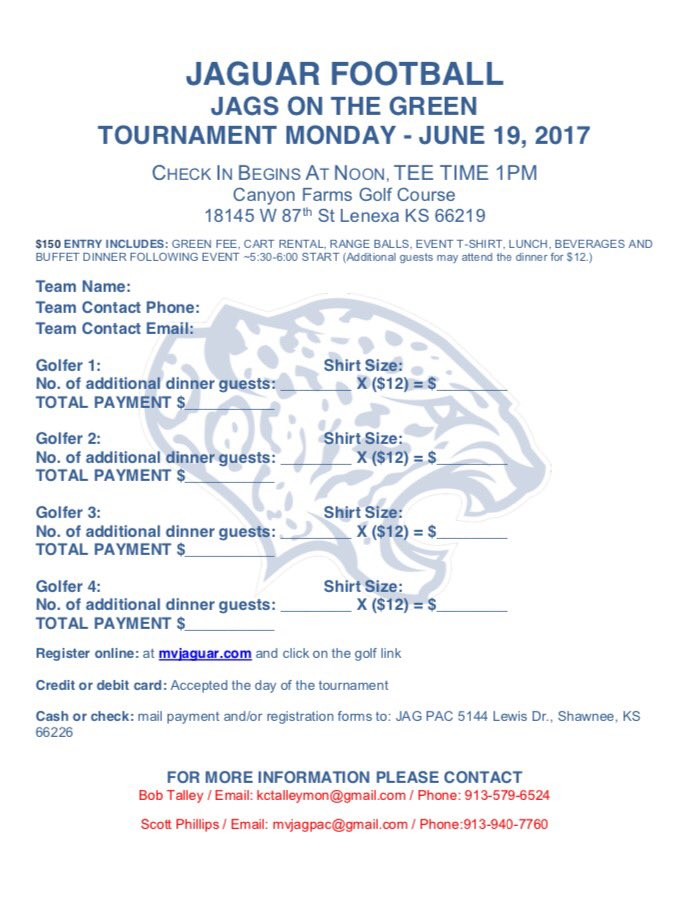 Mill Valley Football On Twitter 8th Annual Jags On The