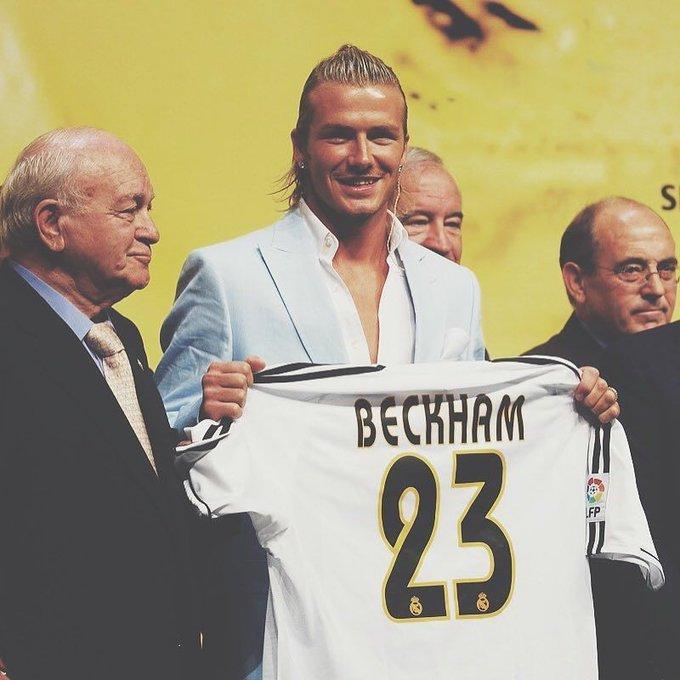 A belated very happy birthday to David Beckham