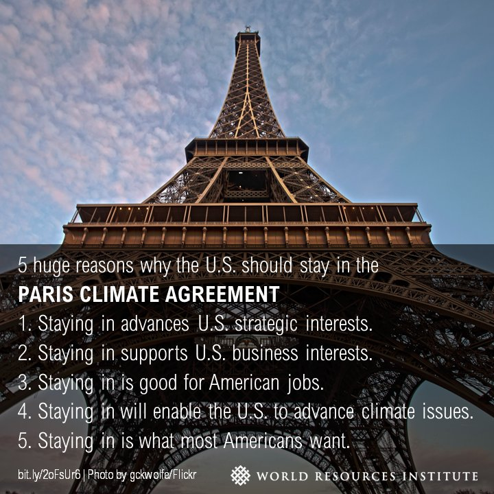 5 huge reasons why America should stay in the #ParisAgreement  https://t.co/tFjYAlPs9I #SB46 #climate https://t.co/SS0xaywWMi