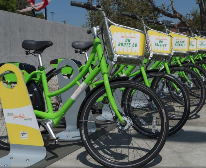 Things I love about where I live: The City Of West Hollywood bike share program, #WeHoPedals. #wehowednesday http://bit.ly/2oQPBb3 pic.twitter.com/yepZHd423r