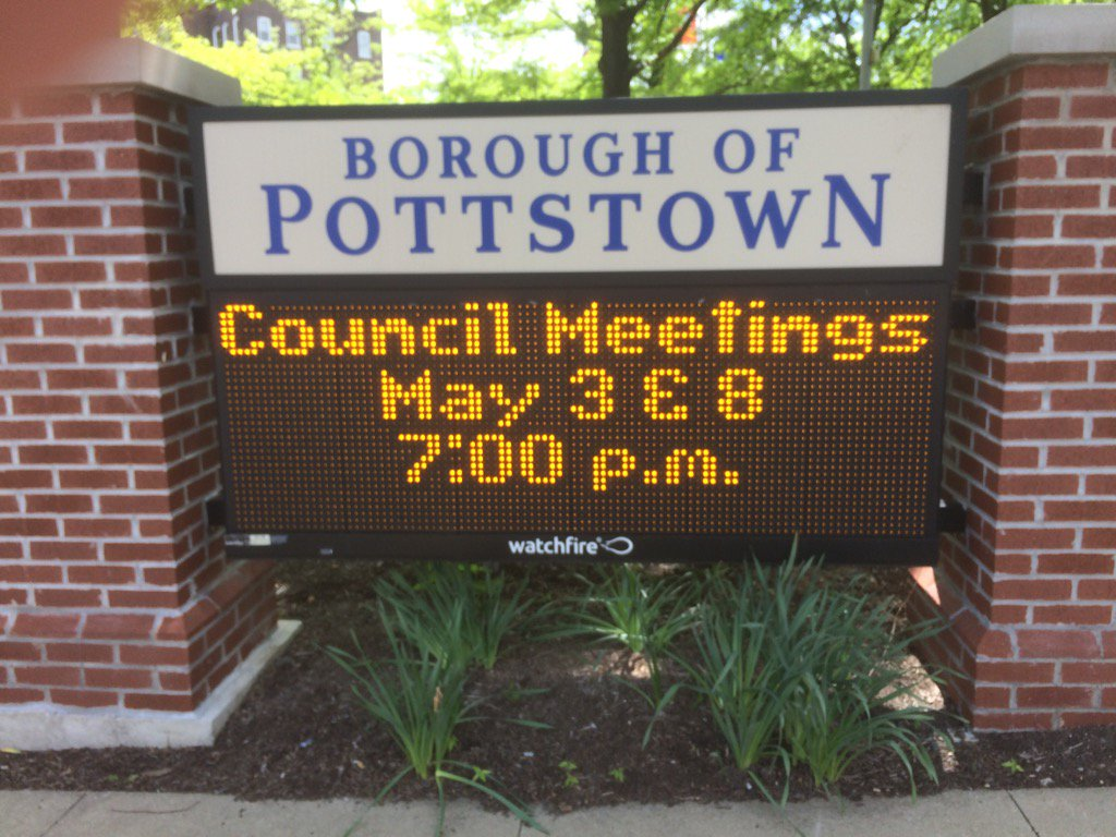It's @pottstownboro council time. A busy agenda. Follow along here. https://t.co/bMuxl8Qb6t