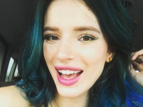 Bella Thorne Just Dyed Her Hair Another Unexpected Color—for Her at Least