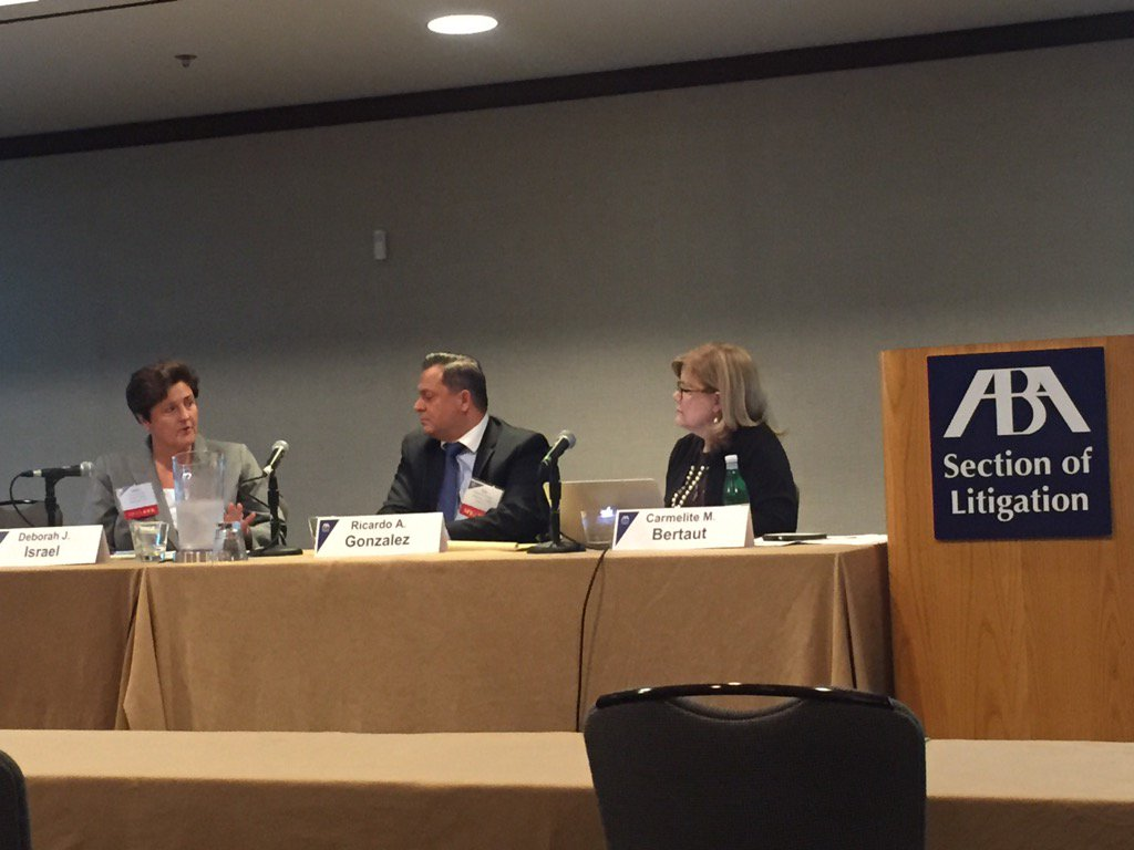 Lessons on the value of being authentic.  Great panel! #LitigationLGBT https://t.co/jdLXRPsKmD