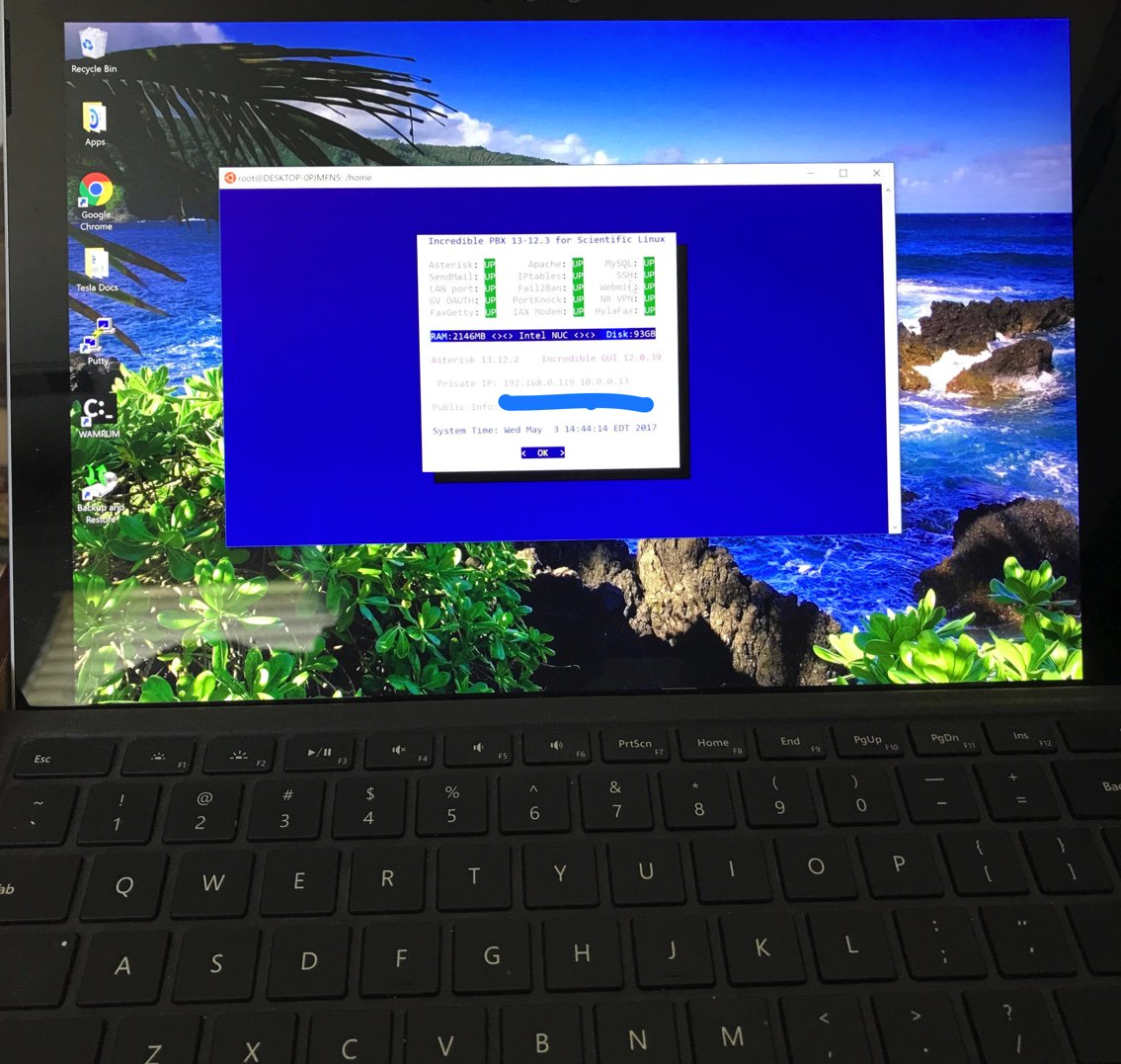 R I P  - SurfacePro + Windows10 + Ubuntu | PIAF - Your own