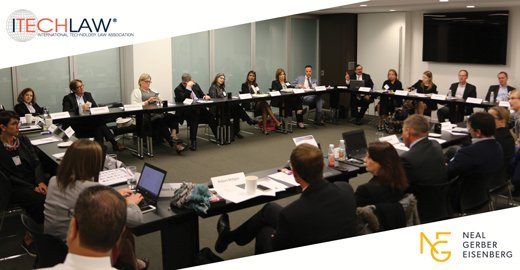 NGE was happy to host the @itechlaw_assn board of directors meeting this morning in our offices. Looking forward to #ITLChicago today! https://t.co/fYKaJdu4tj