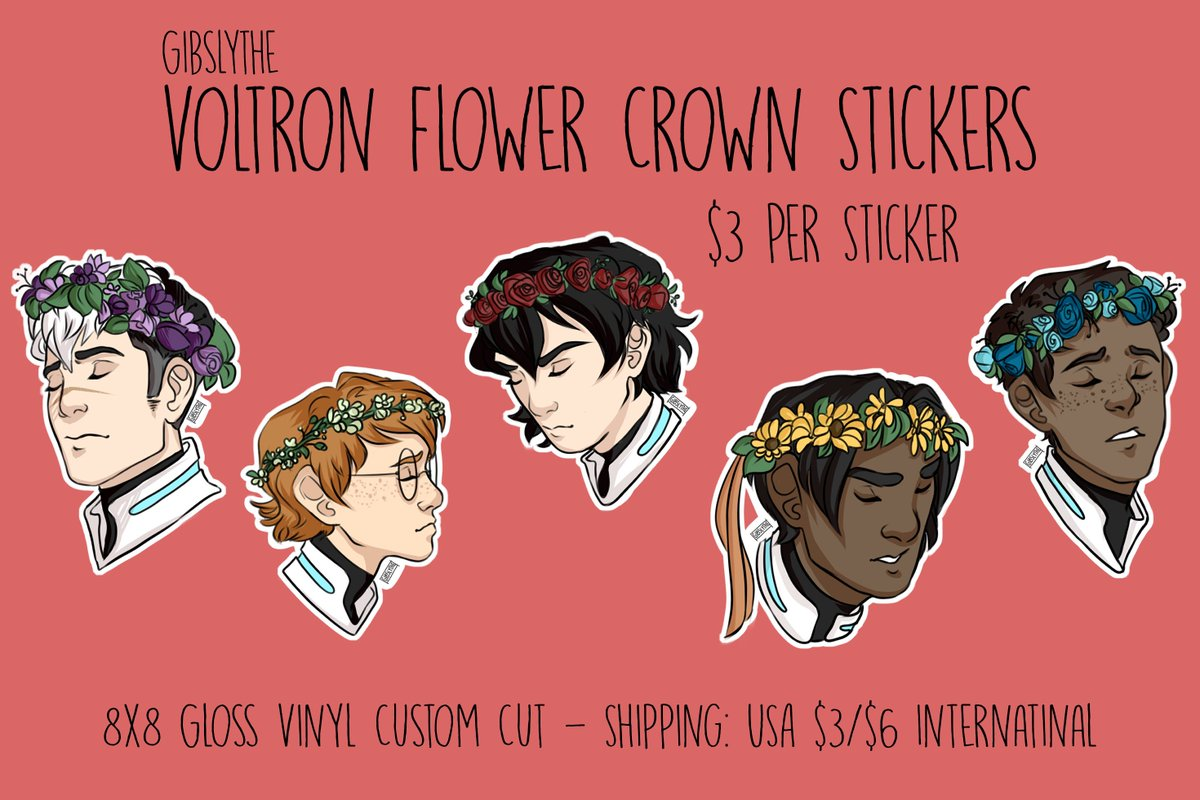 Gibby trc hell on twitter my tictail shop is still open gibby trc hell on twitter my tictail shop is still open and ive added these voltron flower crown stickers as a non preorder item izmirmasajfo