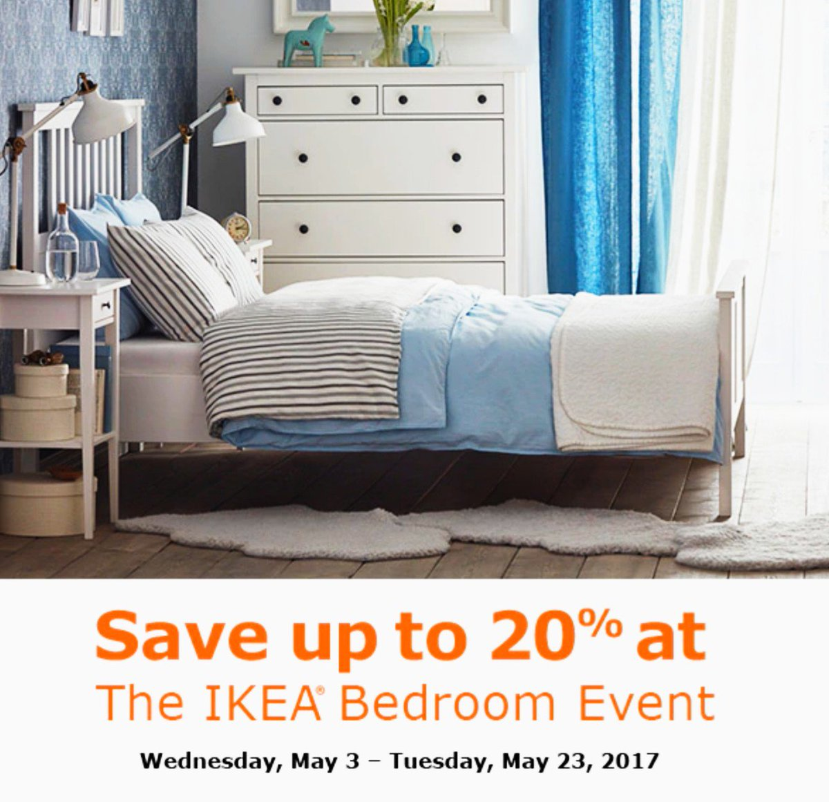 """IKEA College Park on Twitter: """"8% BEDROOM EVENT NOW! Hurry 8"""