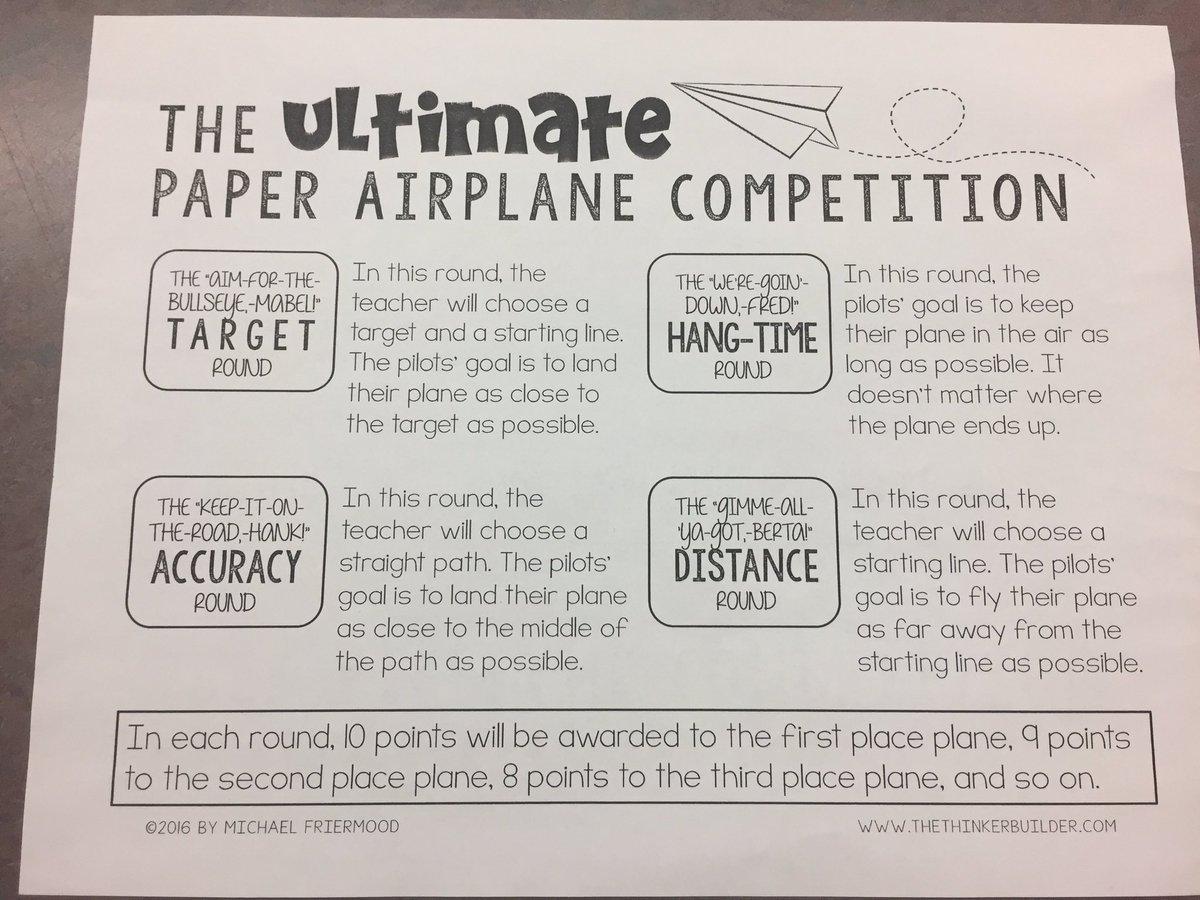 jennifer calabretta on twitter intense ultimate paper airplane