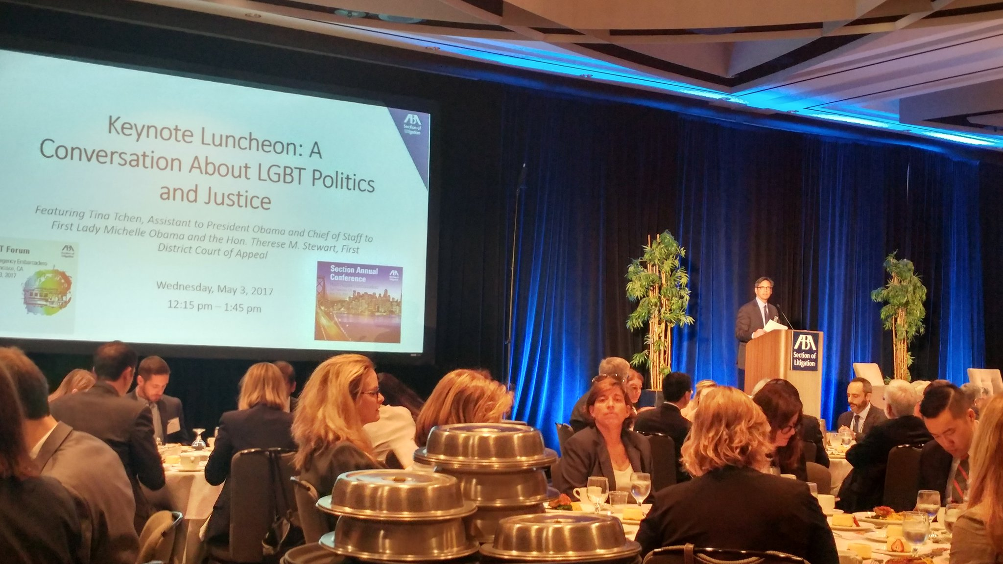 "@LPulgram ""Diversity is at the core of what the Section of Litigation does."" #ABALitigation #LitigationLGBT #LitigationSAC #solosmallfirmlit https://t.co/aIKHaQrXox"