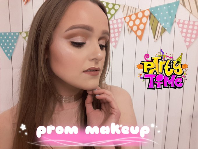 PROM makeup tutorial... 👠👗👑💄