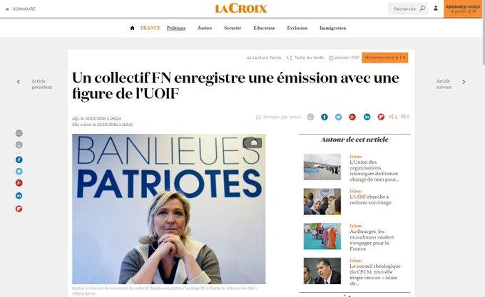 Macron assure qu'un responsable FN a rencontré des membres de l'UOIF. C'est vrai https://t.co/389g33EVzv #2017LeDebat