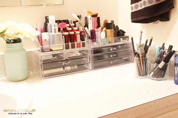 How I Organize My Makeup ⋆ Naturally Stellar
