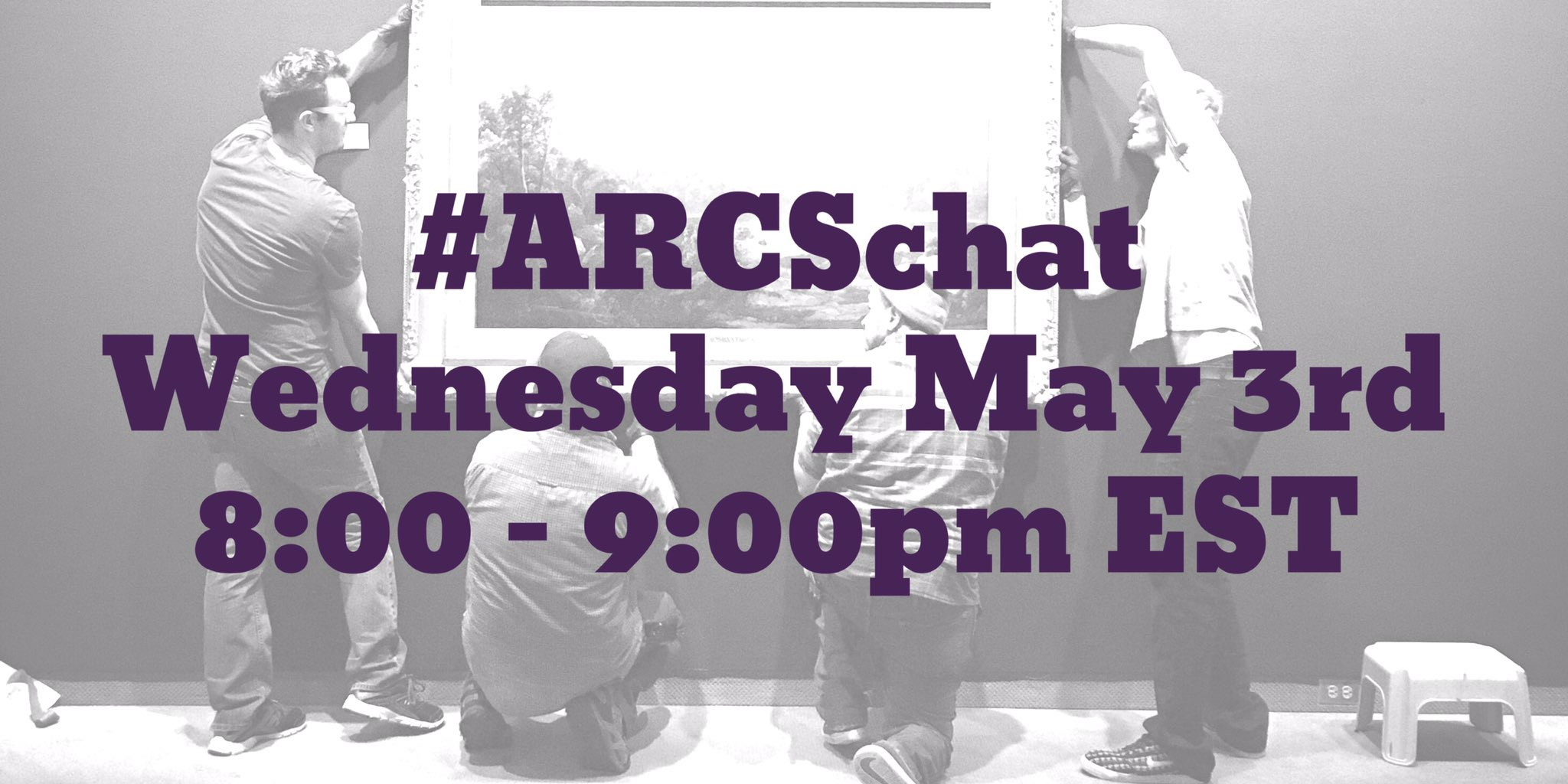 Thumbnail for #ARCSchat 03 May 2017 - Registrar / Conservator Collaborations