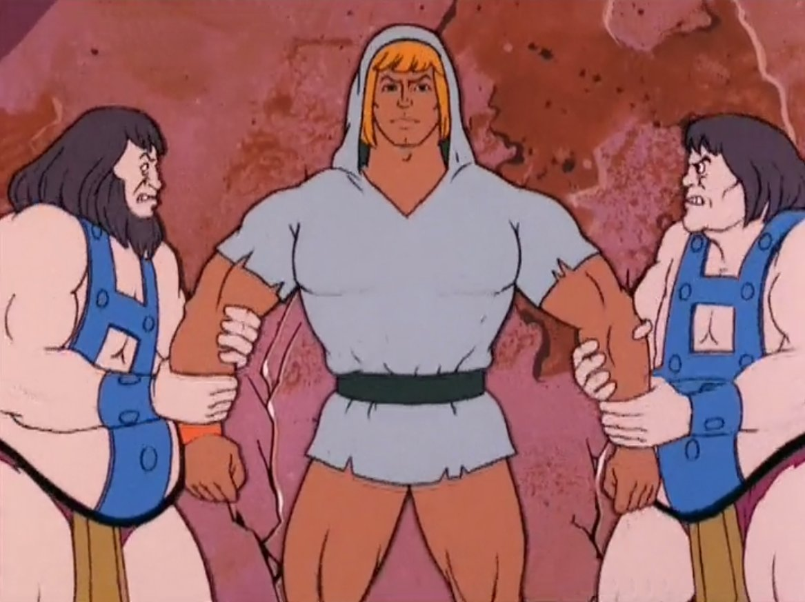 Pretty sure this is how She-Man and the Masturbators of the Universe starts https://t.co/nHMcXWyL6I